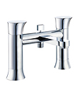 (KJ815M000) Two-handle deck bath/shower mixer