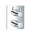 (KJ8164100) Wall thermostatic shower mixer