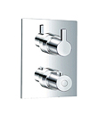 "(KJ8164105(G1/2"") KJ8164135(G3/4"")) Wall thermostatic shower mixer"