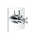 (KJ8214105) Wall thermostatic shower mixer with diverter